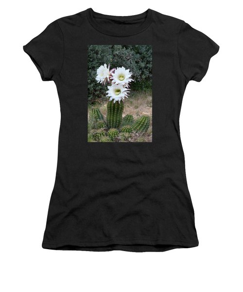 Three Blossoms Women's T-Shirt (Athletic Fit)