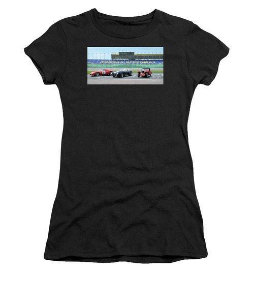 Three Women's T-Shirt (Athletic Fit)