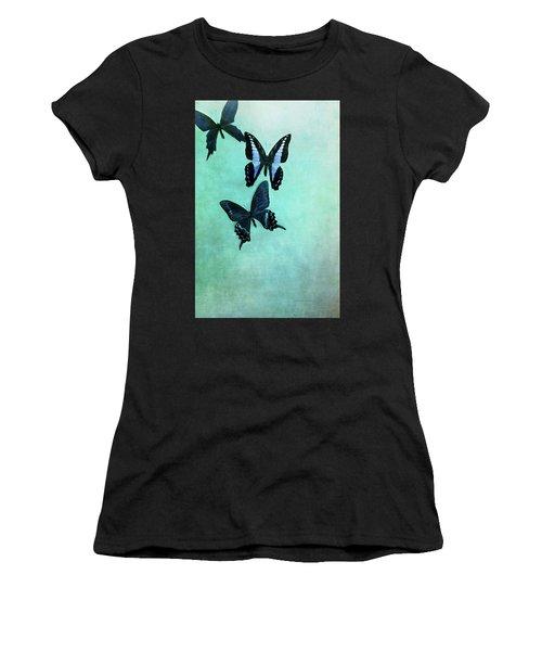 Three Butterflies Women's T-Shirt