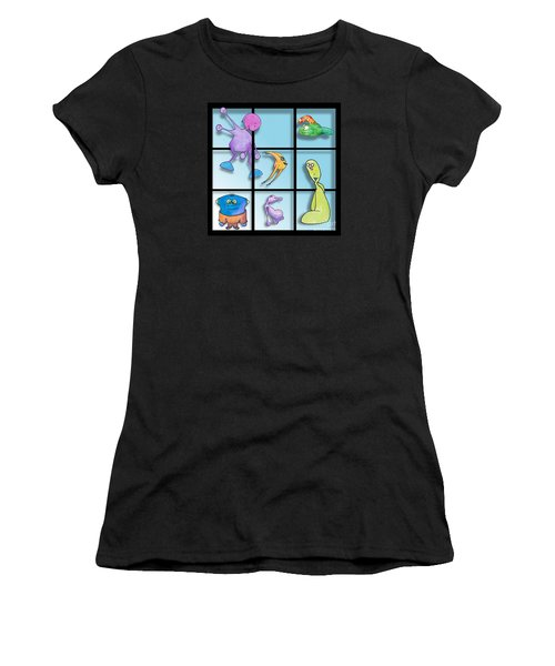 Three By Whee Women's T-Shirt (Athletic Fit)