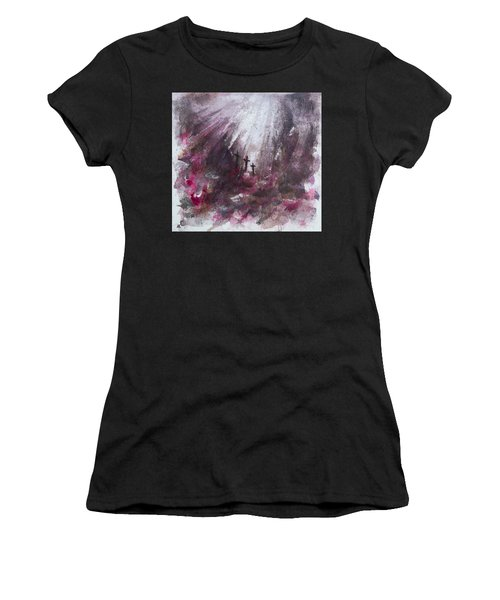 Three Crosses Women's T-Shirt