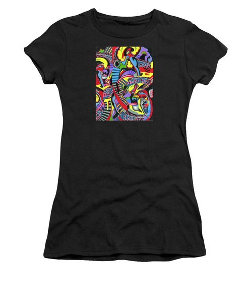 Three Disguises Of An Abstract Thought Women's T-Shirt