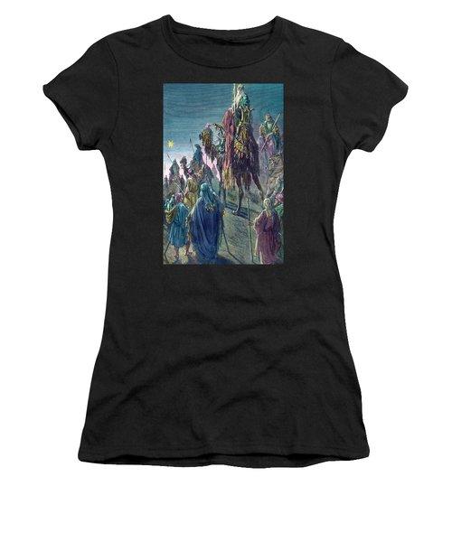 Three Kings  Christmas Card Women's T-Shirt