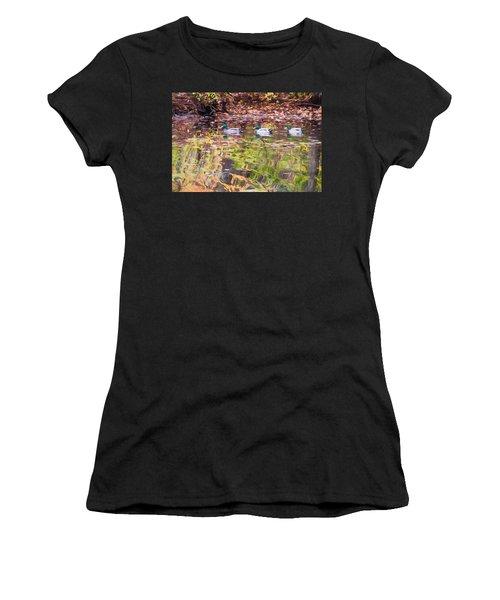 Three Mallards. Women's T-Shirt