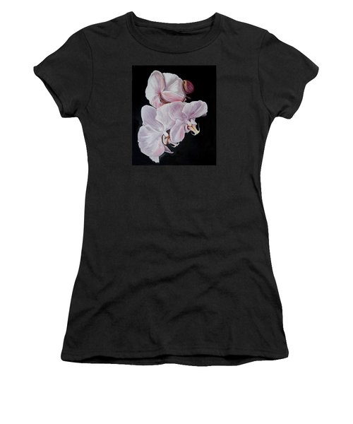 Three Orchids Women's T-Shirt (Athletic Fit)