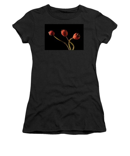 Three Rose Hips Women's T-Shirt (Athletic Fit)