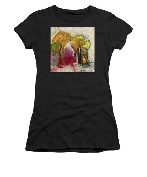 Three Trees Women's T-Shirt (Athletic Fit)