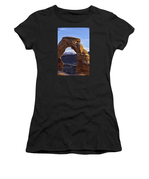 Through The Delicate Arch Women's T-Shirt (Athletic Fit)