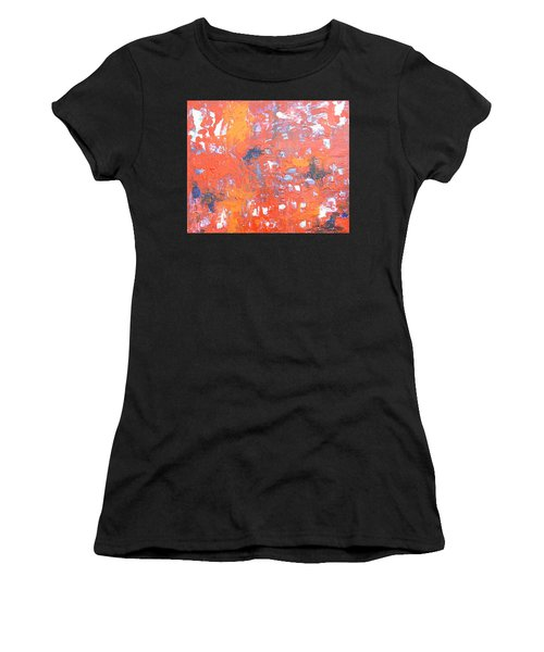 Through The Gaps Women's T-Shirt (Athletic Fit)