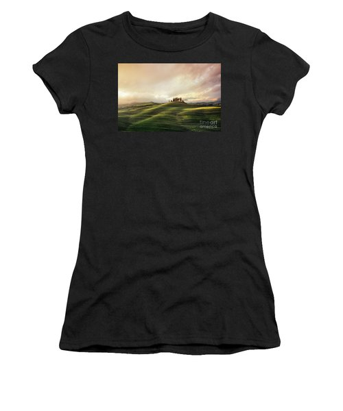 Through The Mists Of Dawn Women's T-Shirt