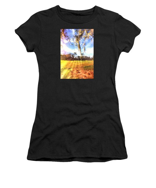 Through The Moss Women's T-Shirt (Athletic Fit)
