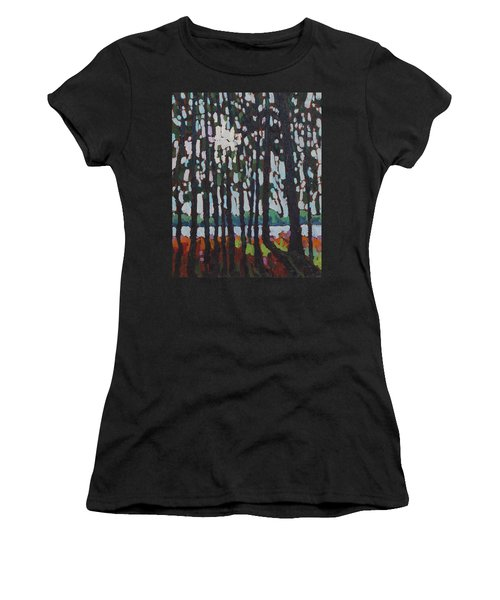 Through The Opinicon Forest Women's T-Shirt (Athletic Fit)
