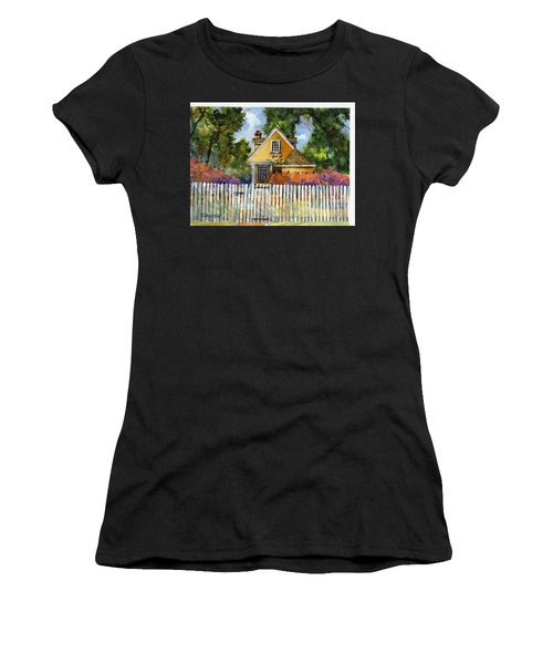 Through The Pickets Women's T-Shirt (Athletic Fit)