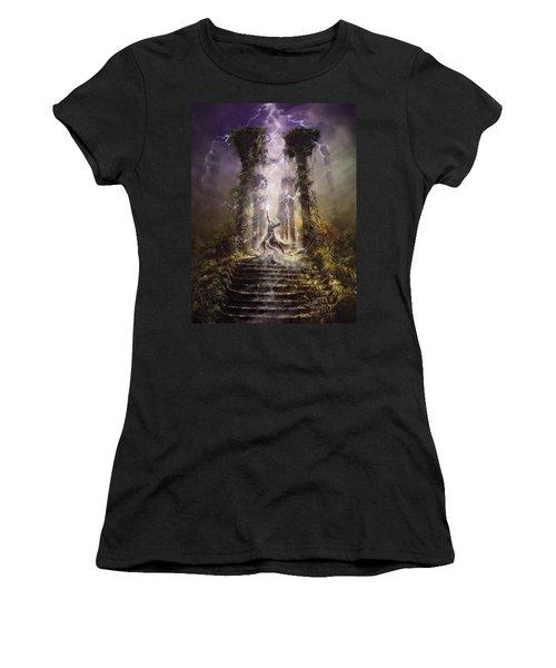 Thunderstorm Wizard Women's T-Shirt