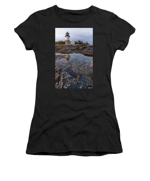 Tide Pools At Marshall Point Lighthouse Women's T-Shirt