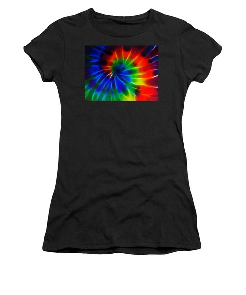 Tie Dye Women's T-Shirt (Athletic Fit)