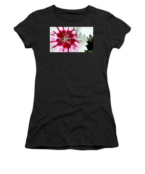 Women's T-Shirt featuring the photograph Tie-dye Pallette by Andrea Platt