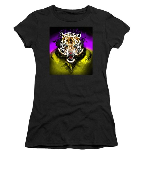 Tiger Rag Women's T-Shirt (Athletic Fit)