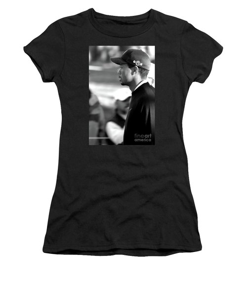 Tiger Woods Bw 2005 Women's T-Shirt (Athletic Fit)