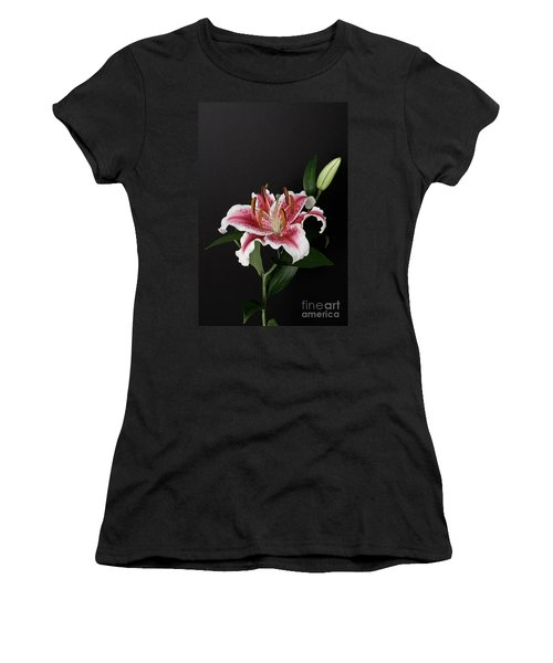 Tiger Woods Lily Women's T-Shirt (Athletic Fit)