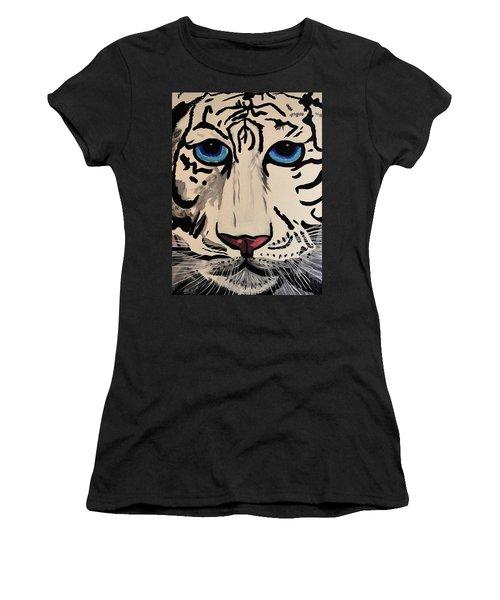 Tigger Women's T-Shirt (Junior Cut) by Nora Shepley