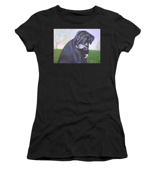 Tiko, Lovable Family Pet. Women's T-Shirt