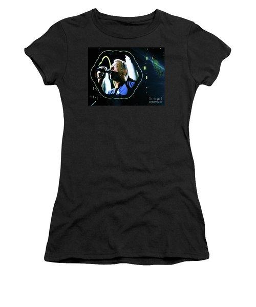 Chris Martin - A Head Full Of Dreams Tour 2016  Women's T-Shirt (Junior Cut) by Tanya Filichkin