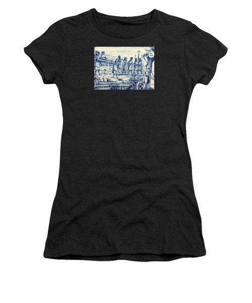 Tile Art Angola Women's T-Shirt (Athletic Fit)