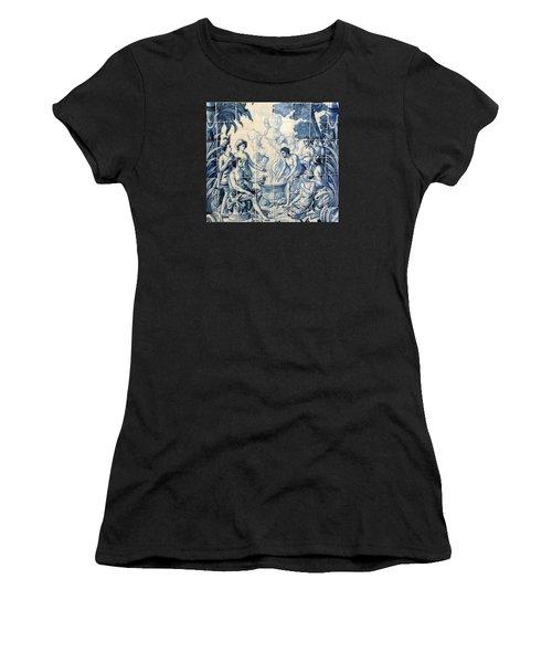 Tile Art Women's T-Shirt (Athletic Fit)