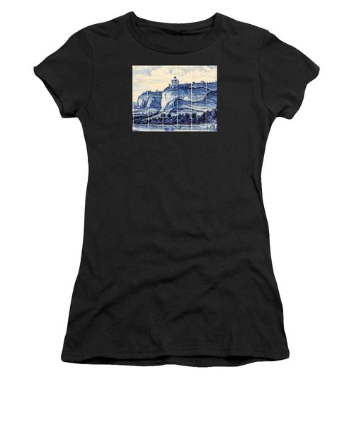 Tile Art Of African History Women's T-Shirt (Athletic Fit)