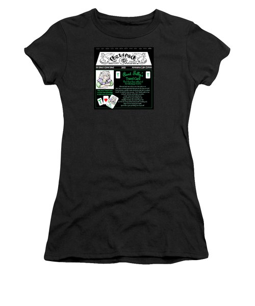 Real Fake News Tilly's Travel Card Women's T-Shirt (Athletic Fit)