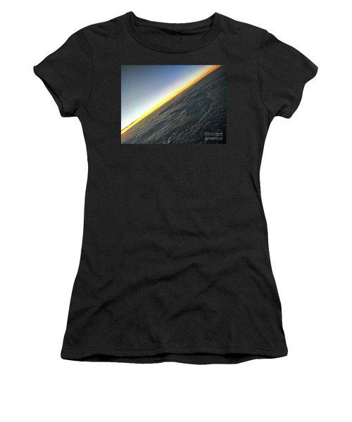 Women's T-Shirt featuring the photograph Tilt Horizon by Robert Knight