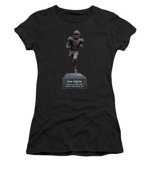 Tim Tebow Transparent For Customization Women's T-Shirt