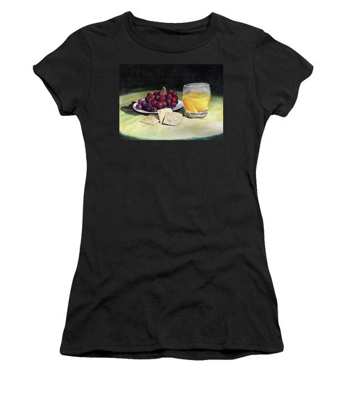 Time For A Snack Women's T-Shirt (Athletic Fit)