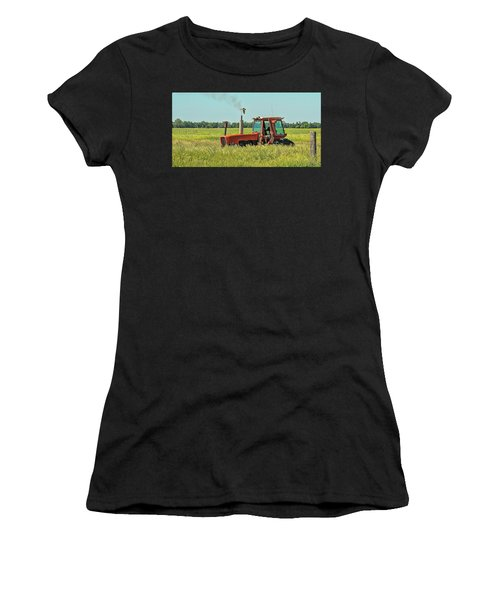 Time To Mow Women's T-Shirt (Athletic Fit)
