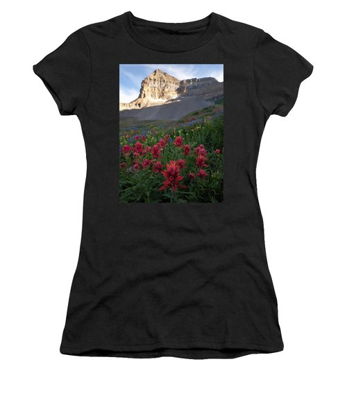 Timpanogos Paintbrush Women's T-Shirt