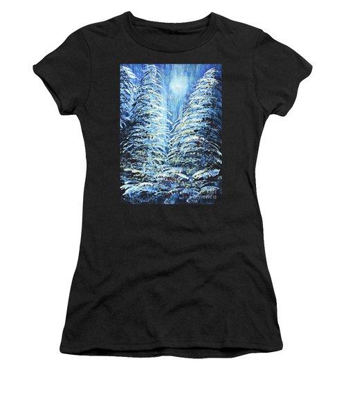 Tim's Winter Forest Women's T-Shirt