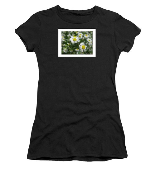 Tiny Flowers Women's T-Shirt (Athletic Fit)