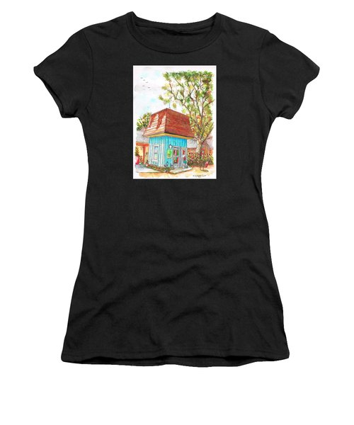 Tiny Tree Boutique In Los Olivos, California Women's T-Shirt (Athletic Fit)