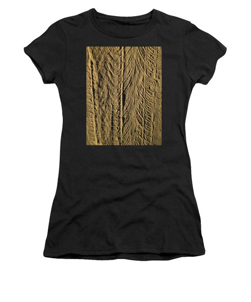 Tire Tracks Women's T-Shirt (Athletic Fit)