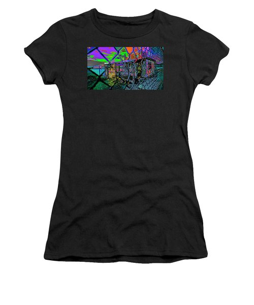 Tires And Broke Behind The Fence Women's T-Shirt
