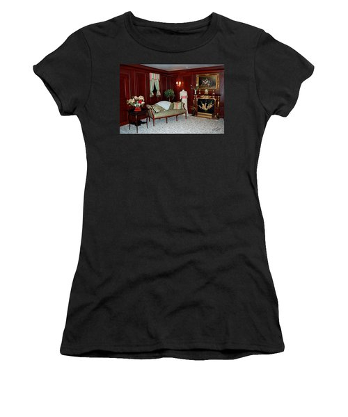 Titanic First Class Women's T-Shirt (Junior Cut) by DigiArt Diaries by Vicky B Fuller