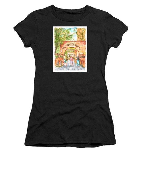 Tlaquepaque Gallery In Sedona, Arizona Women's T-Shirt (Athletic Fit)
