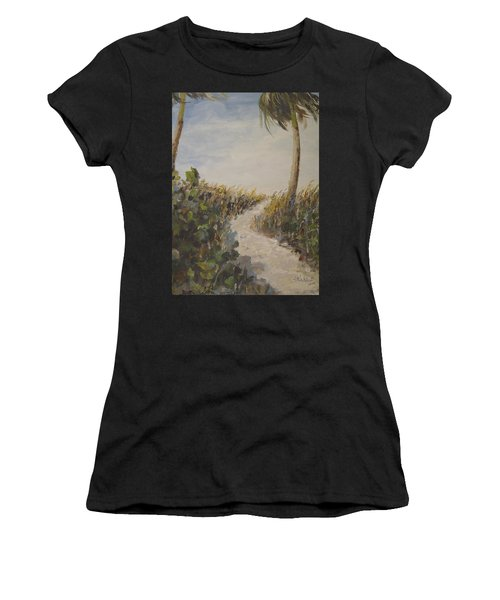 To The Beach Women's T-Shirt (Athletic Fit)