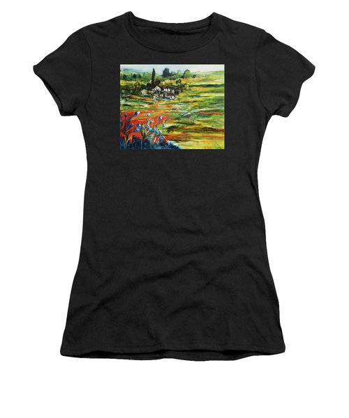 To The Country Born Women's T-Shirt (Athletic Fit)