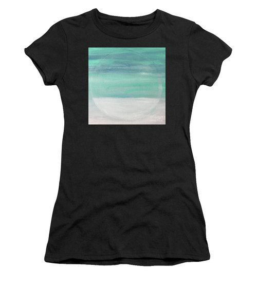 To The Moon Women's T-Shirt (Athletic Fit)