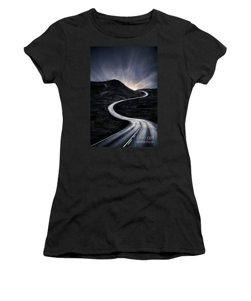 To Where The Darkness Ends Women's T-Shirt
