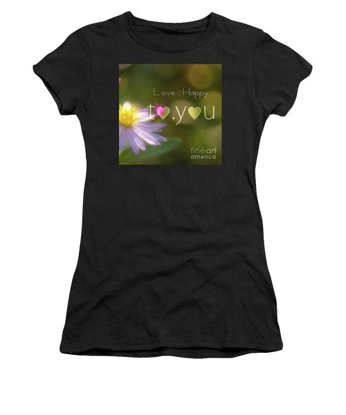 To You #003 Women's T-Shirt (Athletic Fit)