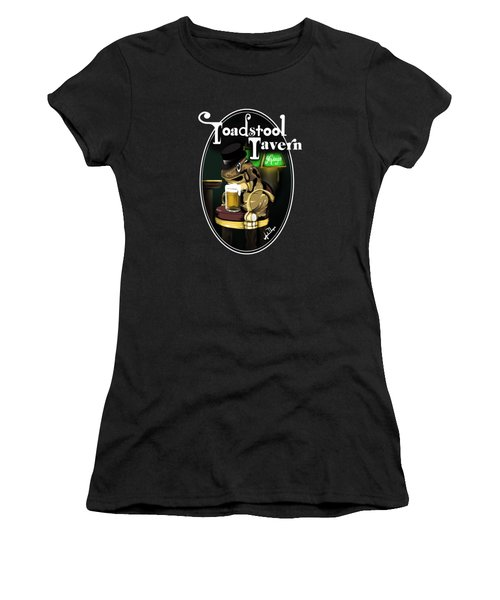 Toadstool Tavern  Women's T-Shirt (Athletic Fit)