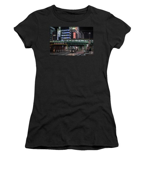 Tokyo Transportation, Japan Women's T-Shirt (Athletic Fit)